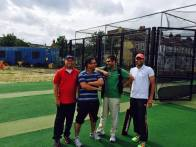 Fun at the nets