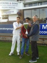 Newham CC Under 18s with the T20 Cup