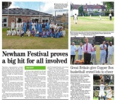 Newham CC hosts a cricket festival on August Bank Holiday Monday.