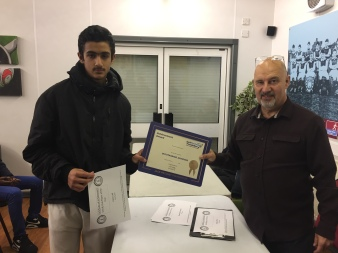 Haris Latif - U14 & Club Player of the Year, Jack Petchey Award 2016