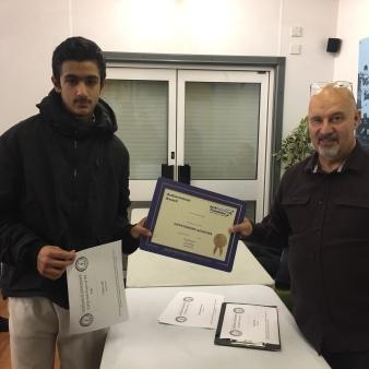 Haris Latif - U14 & Club Player of the Year, Jack Petchey Award 2016