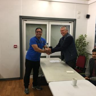 Amir Shaukat - Bowling runner-up 2016